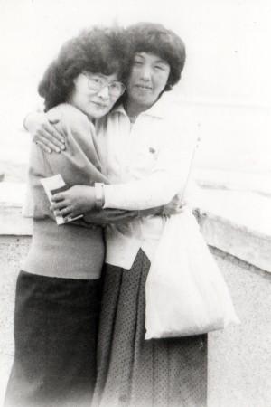 Лора и мама Чёль-тина