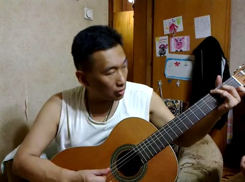 Павел и гитара