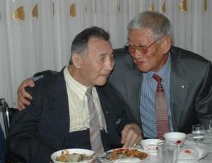 Чин Чун Чер с другом Тхай Н.Н.